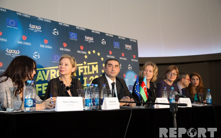 Bakıda V Avropa Film Festivalının açılışı olub - Fotoreportaj