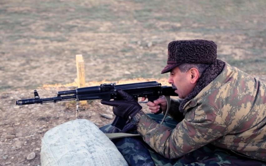 Azərbaycan Silahlı Qüvvələrində bütün rəhbər heyətin iştirakı ilə toplantı keçirilir