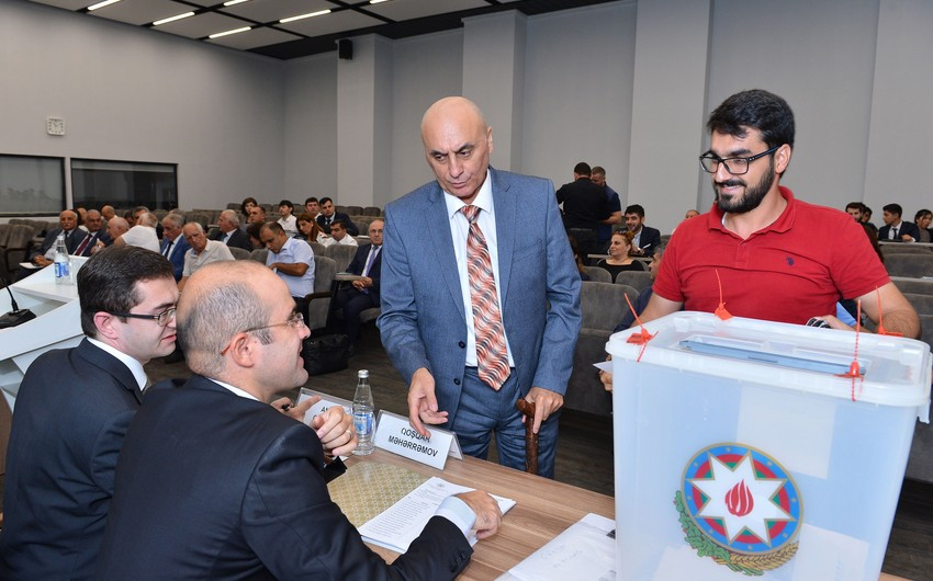 Azerbaijan's Ministry of Education expresses attitude to discontent with elections to Public Union