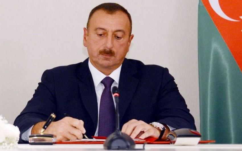 Prezident Naxçıvanda dairəvi avtomobil yolunun yenidən qurulması ilə bağlı sərəncam imzalayıb