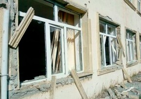 Армяне обстреляли здание школы в Агдаме