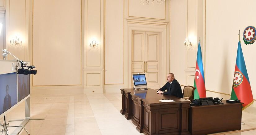 Prezident İlham Əliyev Rəşad Nəbiyevi videoformatda qəbul edib
