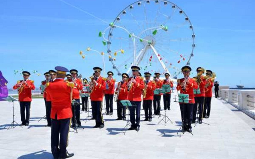 Military bands will organize performances in Baku on the occasion of Republic Day