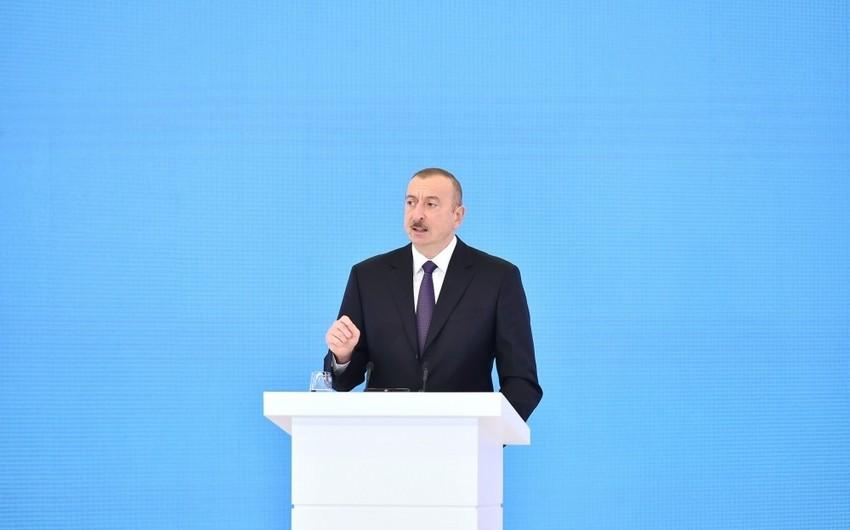 Президент Ильхам Алиев: Подписание Контракта века является историческим событием