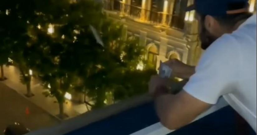 Eyvandan pul səpən məşhur cüdoçumuzla bağlı rəsmi açıqlama