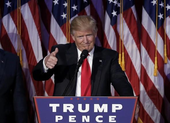 Newly elected president promises double growth in US economy