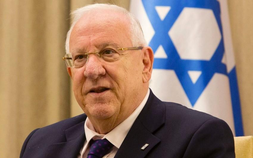 İsrail prezidentinin Gürcüstana rəsmi səfəri başlayıb