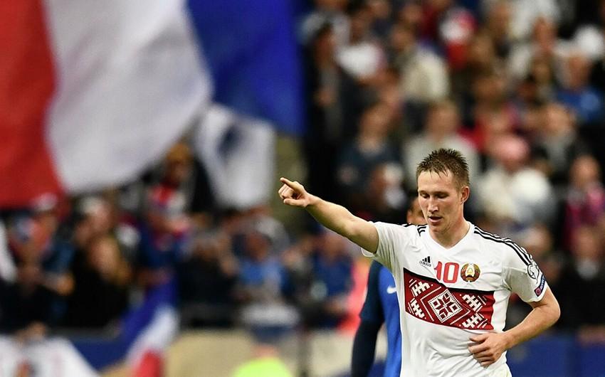 Etiraz aksiyası zamanı həbs olunan belaruslu futbolçu azadlığa buraxıldı