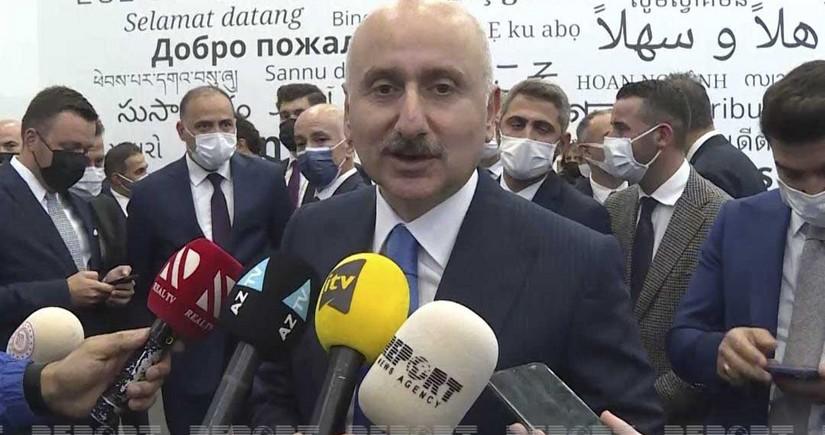 """Türkiyəli nazir: """"Bakı-Tbilisi-Qarsın daha yüksək səviyyəli fəaliyyəti ilə bağlı müzakirələr aparılıb"""""""