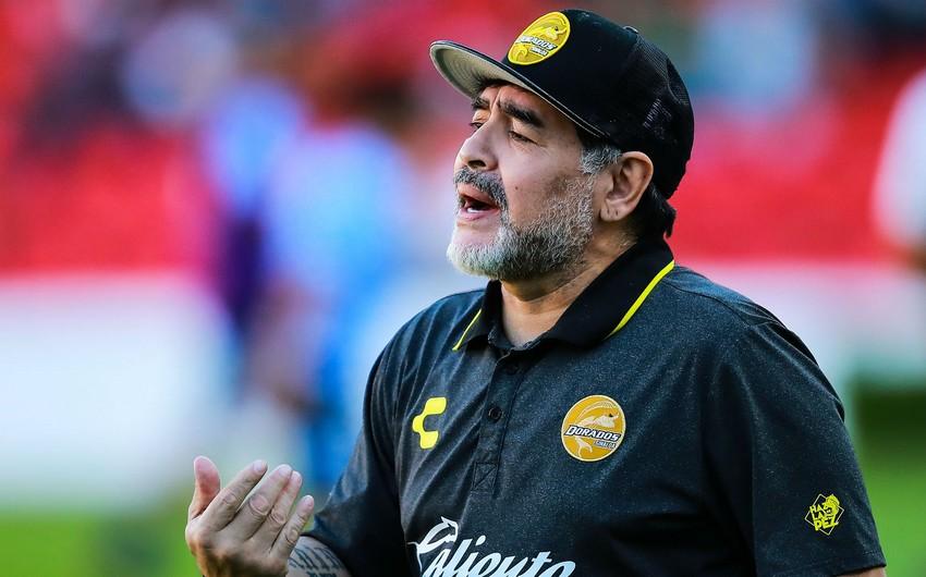 Dieqo Maradona karantinə alındı