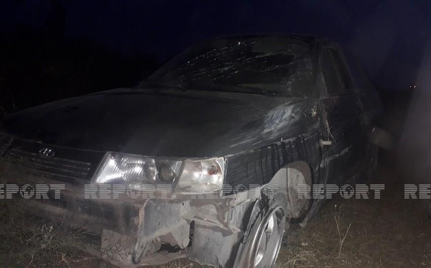 В Агсу произошло ДТП, есть погибший