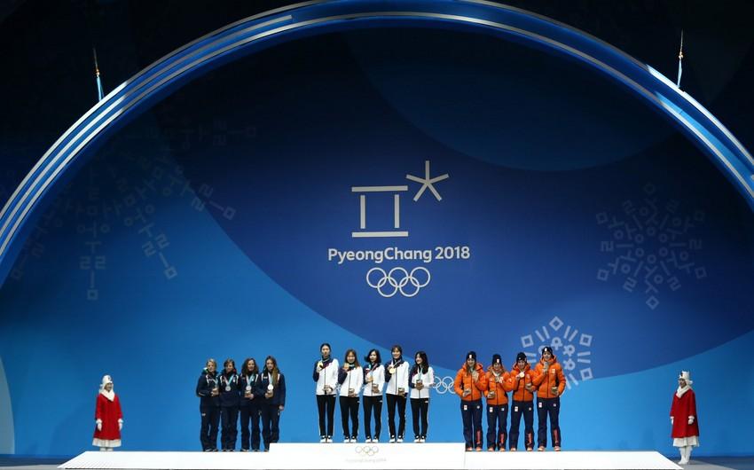 Yaponiya yığması olimpiya rekordu ilə birinci olub