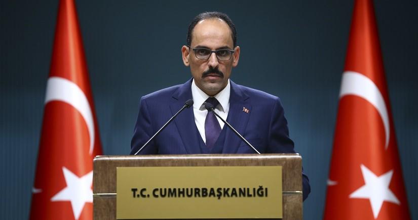 Türkiyə prezidentinin sözçüsü: Bizimlə kimsə təkəbbürlə danışa bilməz