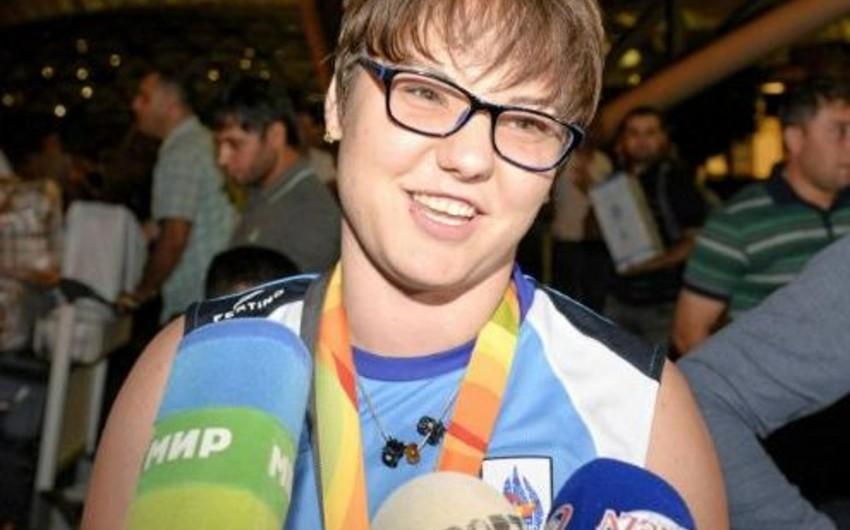 Yelena Çebanu: Qazandığım üç medal da yüksək nəticədir