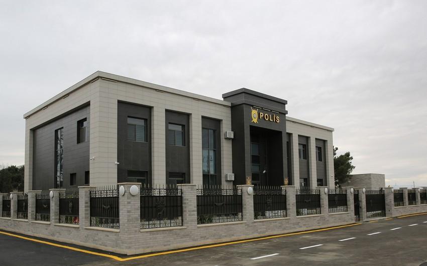 Sumqayıt Şəhər Polis İdarəsinin 5-ci Polis Bölməsinin yeni inzibati binasının açılışı olub
