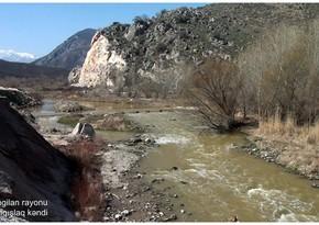 Освобожденное от оккупации село Сарыгышлаг Зангиланского района