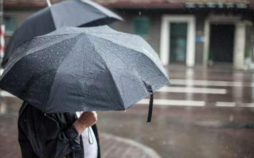 Sabah axşam Bakıda yağışın sulu qar və qarla qarışıq yağması gözlənilir