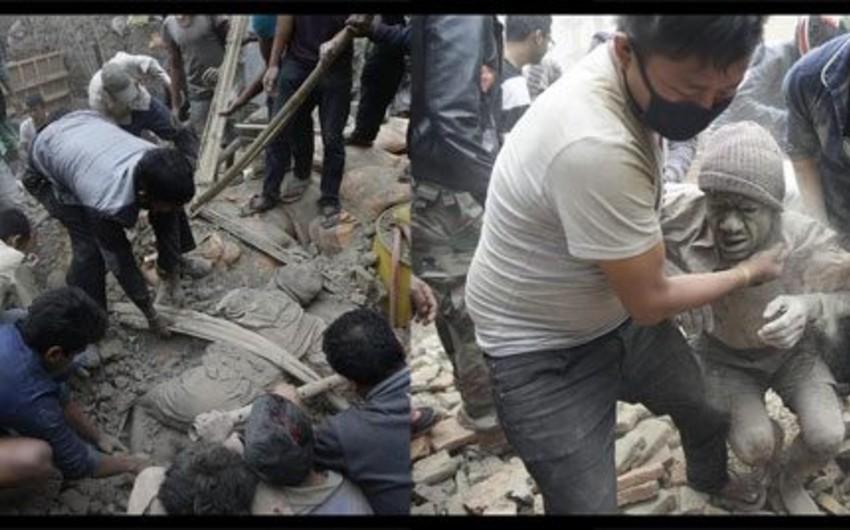 Strong earthquake hits Nepal