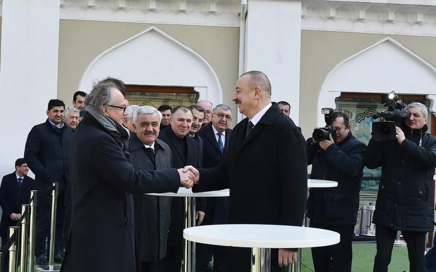 """Prezident İlham Əliyev """"Bakı 2019: Ulduzlar Finalı"""" qarşılaşmasını izləyib - FOTO - YENİLƏNİB-2"""