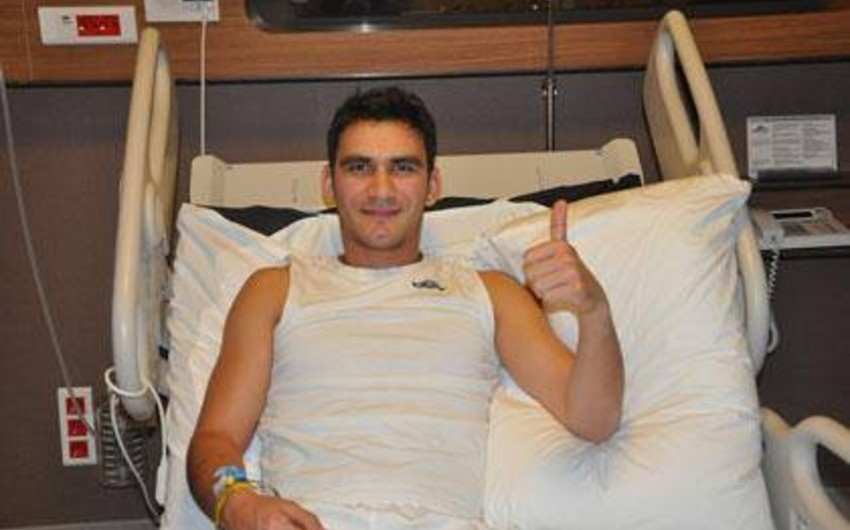 Azerbaijani footballer was operated in Turkish hospital