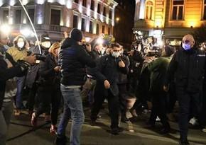 В Тбилиси протестуют против комендантского часа