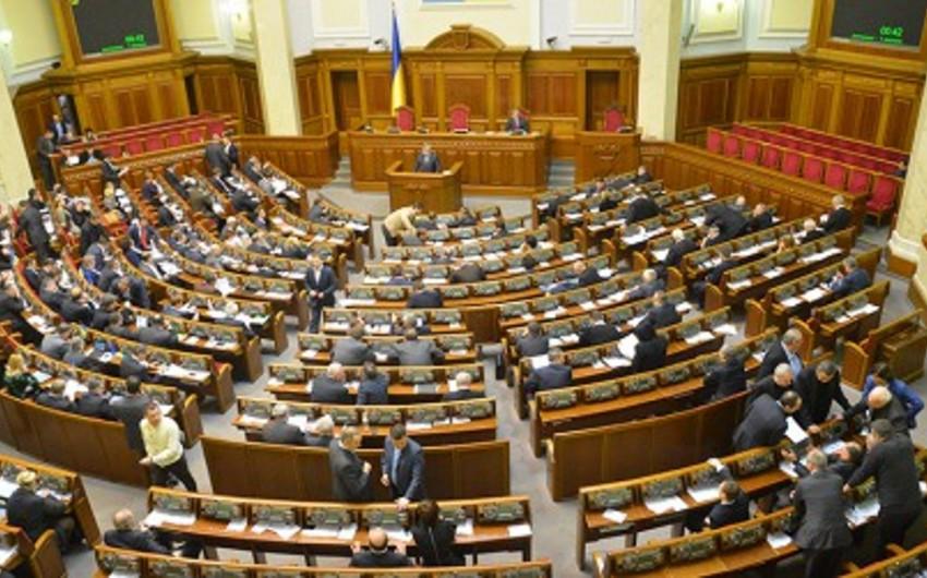 Ukrayna parlamenti hökumətin yeni tərkibini təsdiq edib