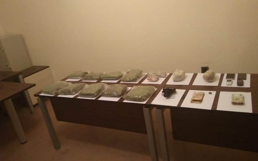 SBS prevents drug trafficking to Azerbaijan, 4 detained