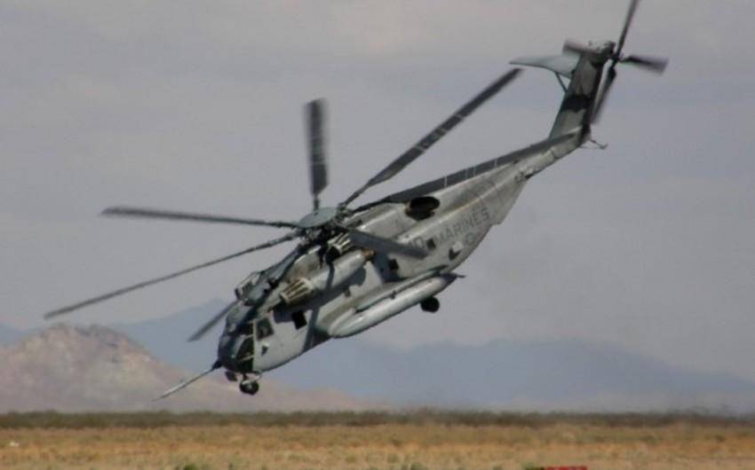 ABŞ-da helikopter qəzaya uğrayıb: iki ölü