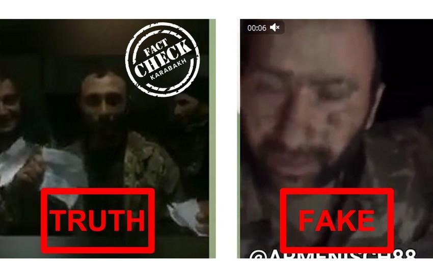 Видеоролик о якобы плененном азербайджанском солдате оказался фейком