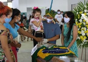 Braziliyada COVID-19 xəstələrinin sayı 1,7 milyonu ötdü