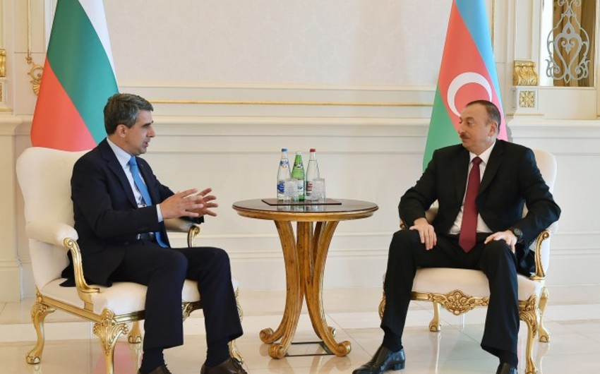 Ильхам Алиев встретился с президентом Болгарии Росеном Плевнелиевым