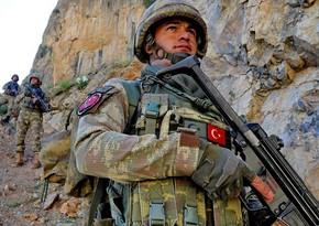 Türkiyə hərbçiləri daha 2 terrorçunu zərərsizləşdirib