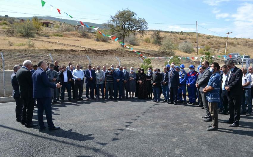 Siyəzən rayonunun 2 kəndində içməli su layihəsinin icrası yekunlaşdırılıb