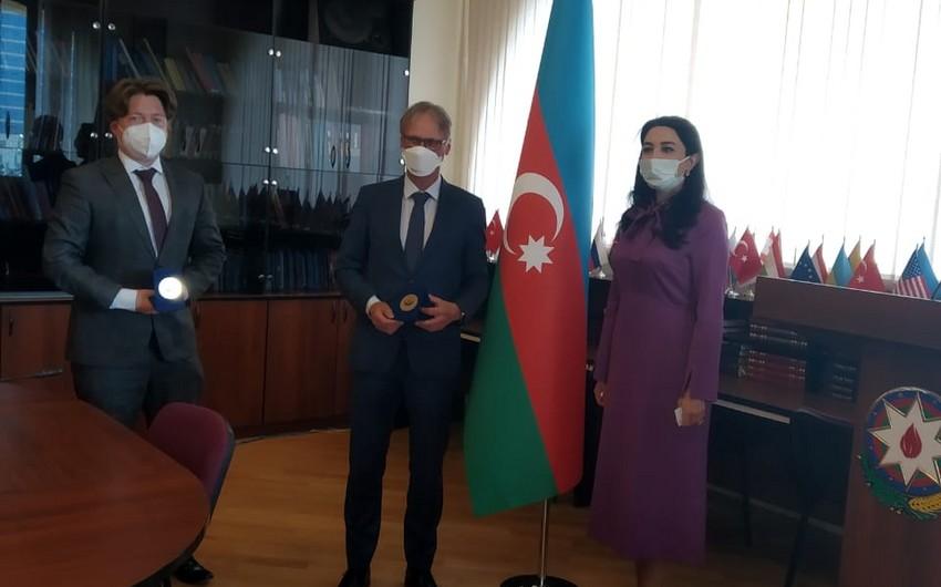 German Ambassador meets with Azerbaijan's Ombudsperson