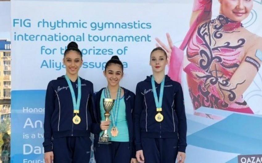 Azərbaycan gimnastı beynəlxalq turnirdə bürünc medal qazanıb