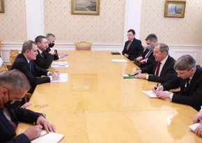 Moskvada Ceyhun Bayramovun Sergey Lavrov ilə görüşü olub