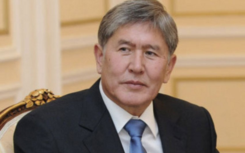 Qırğız Respublikası prezidentinin xəstəliyi məlum olub