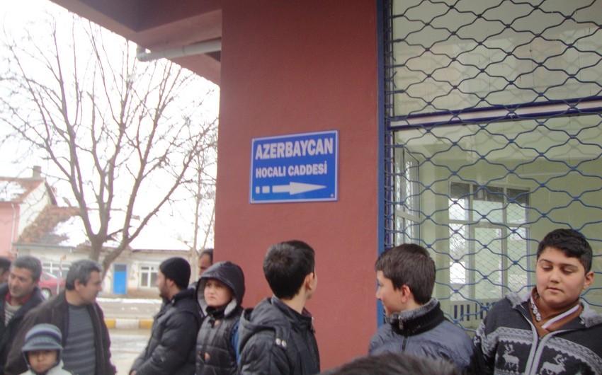 """Türkiyədə prospeklərindən birinə """"Azərbaycan Xocalı"""" adı verilib"""