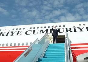 Начался визит Эрдогана в Россию