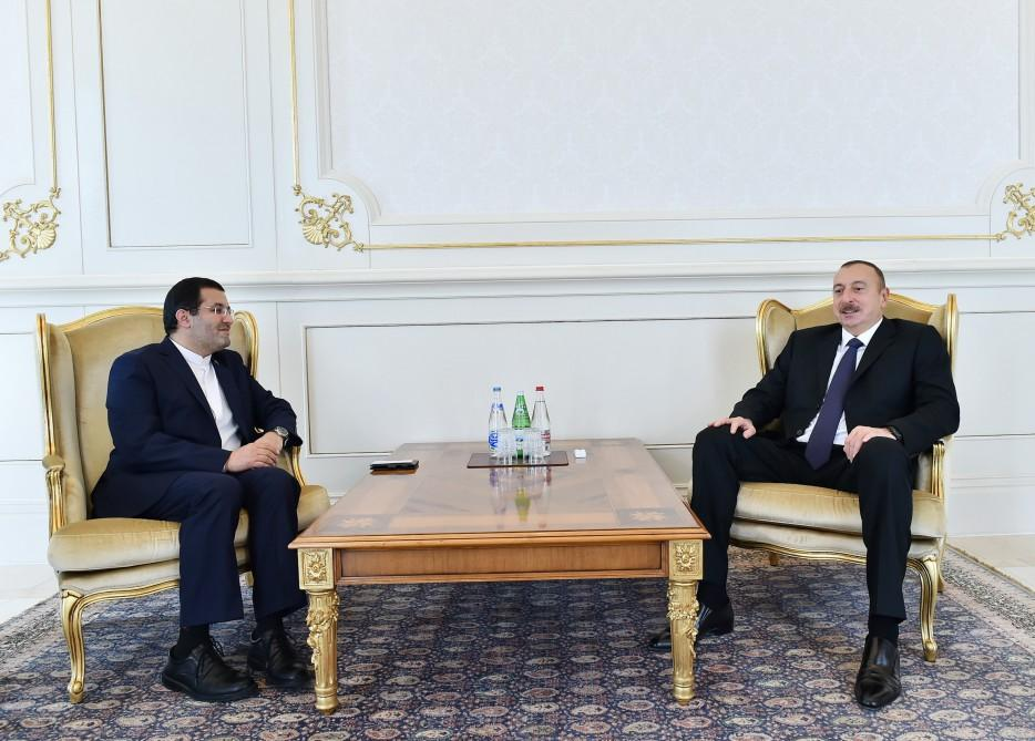 Президент Ильхам Алиев: Азербайджан заинтересован в дальнейшем укреплении дружественных и братских отношений с Ираном