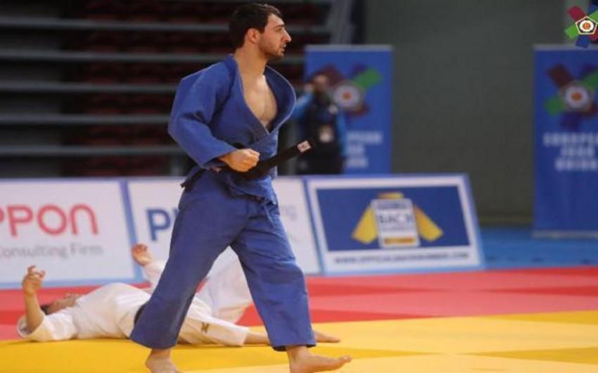 Azərbaycan cüdoçusu Avropa kuboku yarışında gümüş medal qazanıb