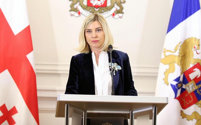 KİV: Gürcüstan prezidentinin mətbuat katibi istefa verib