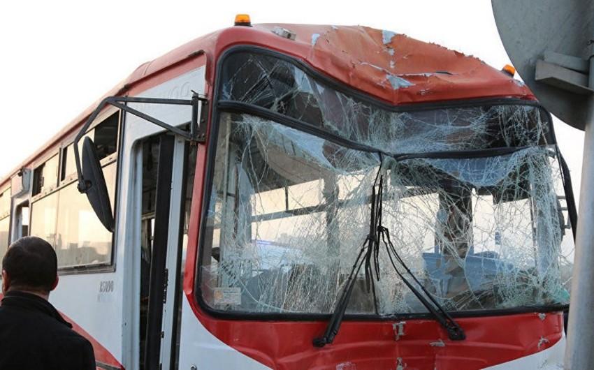 Gəncədə avtobus piyadanı vurub öldürdü