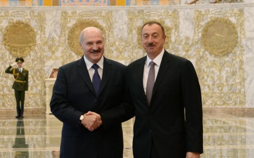 Azərbaycan prezidenti Minskdə MDB Dövlət Başçıları Şurasının iclasında iştirak edib