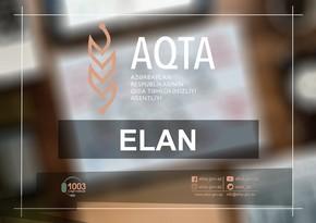 AQTA ictimai iaşə müəssisələrinin nümayəndələri üçün videokonfrans keçirəcək