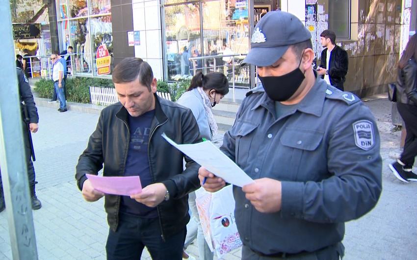 Polis əməkdaşları nəzarət-profilaktiktədbirlərini daha da gücləndirilib