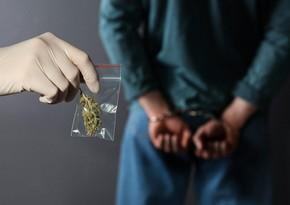 14 kiloqrama yaxın narkotik vasitə qanunsuz dövriyyədən çıxarılıb