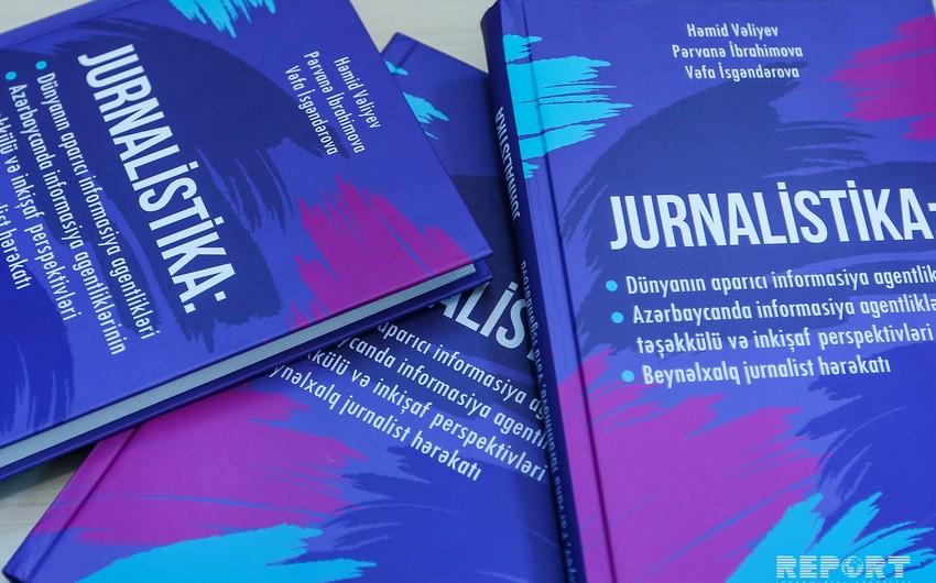 BDU-da informasiya agentlikləri ilə bağlı kitabın təqdimatı keçirilib
