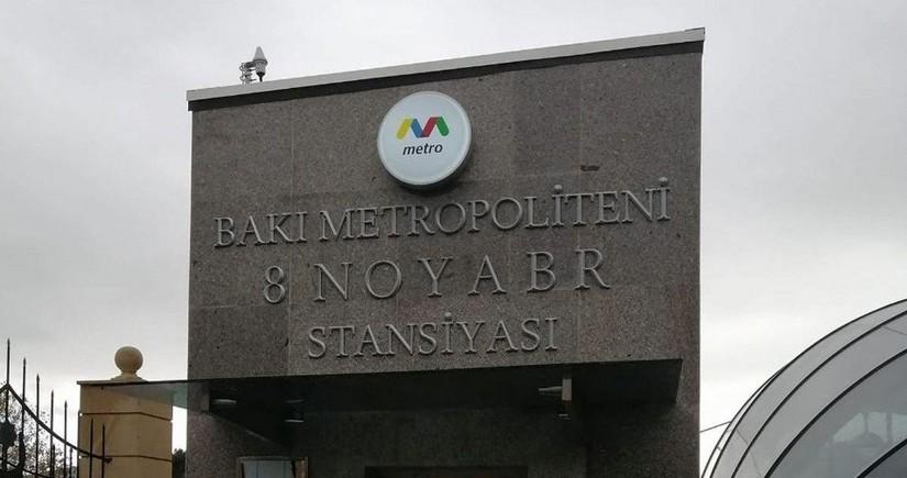 Bakı metrosunun 8 noyabr və digər 2 stansiyasına yeni rəis təyin olunub
