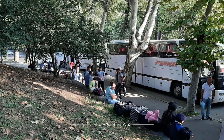 Gürcüstandan Azərbaycana növbəti təxliyə həyata keçirilir